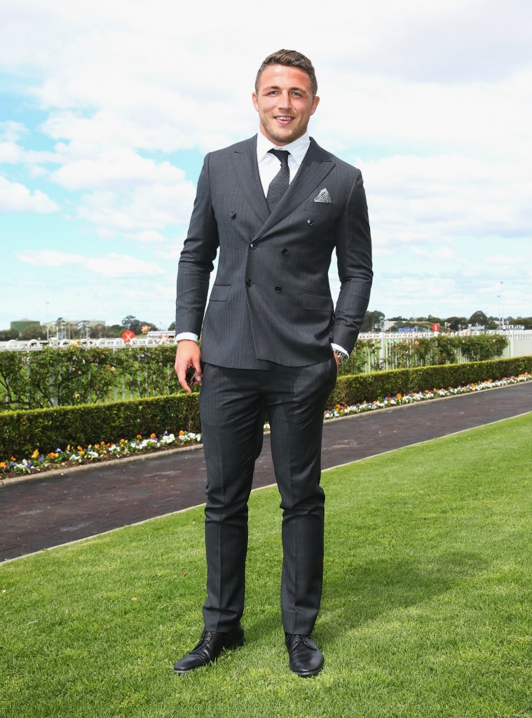 Sam Burgess at Rosehill Gardens.