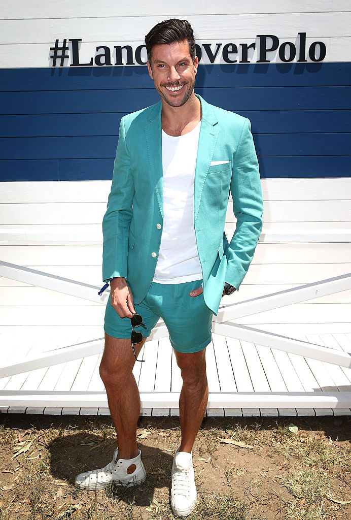 MELBOURNE, AUSTRALIA - NOVEMBER 28: The Bachelor's Sam Wood attends Land Rover Polo In The City on November 28, 2015 in Melbourne, Australia. (Photo by Scott Barbour/Getty Images)