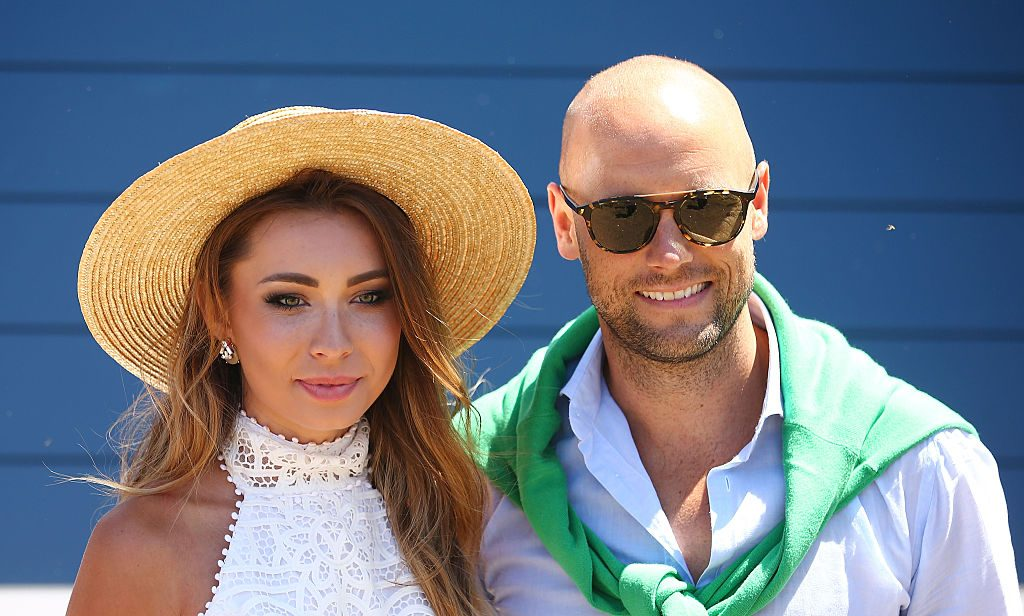 MELBOURNE, AUSTRALIA - NOVEMBER 28: Rozalia Russian and Nick Russian attend Land Rover Polo In The City on November 28, 2015 in Melbourne, Australia. (Photo by Scott Barbour/Getty Images)