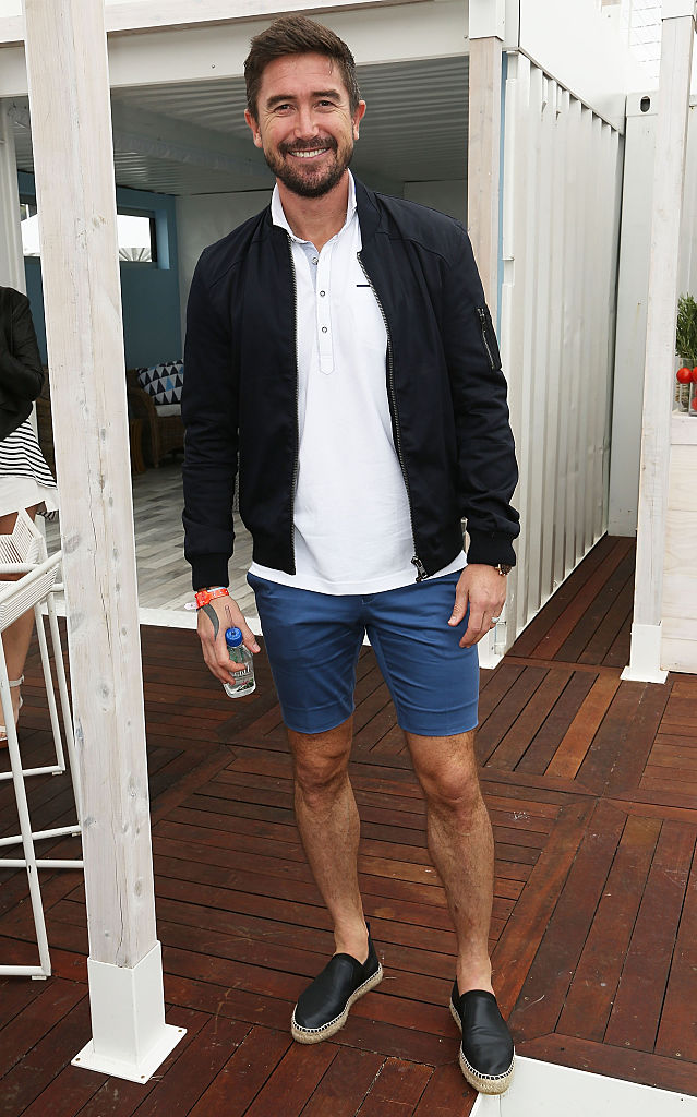 Harry Kewell attends the Portsea Polo event at Point Nepean Quarantine Station on January 10, 2015 in Melbourne, Australia.
