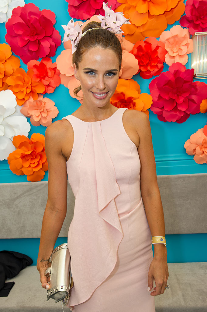 Jodi Anasta (Jodi Gordon) during Magic Millions Race Day at Gold Coast Racecourse on January 10, 2015 in Gold Coast, Australia.
