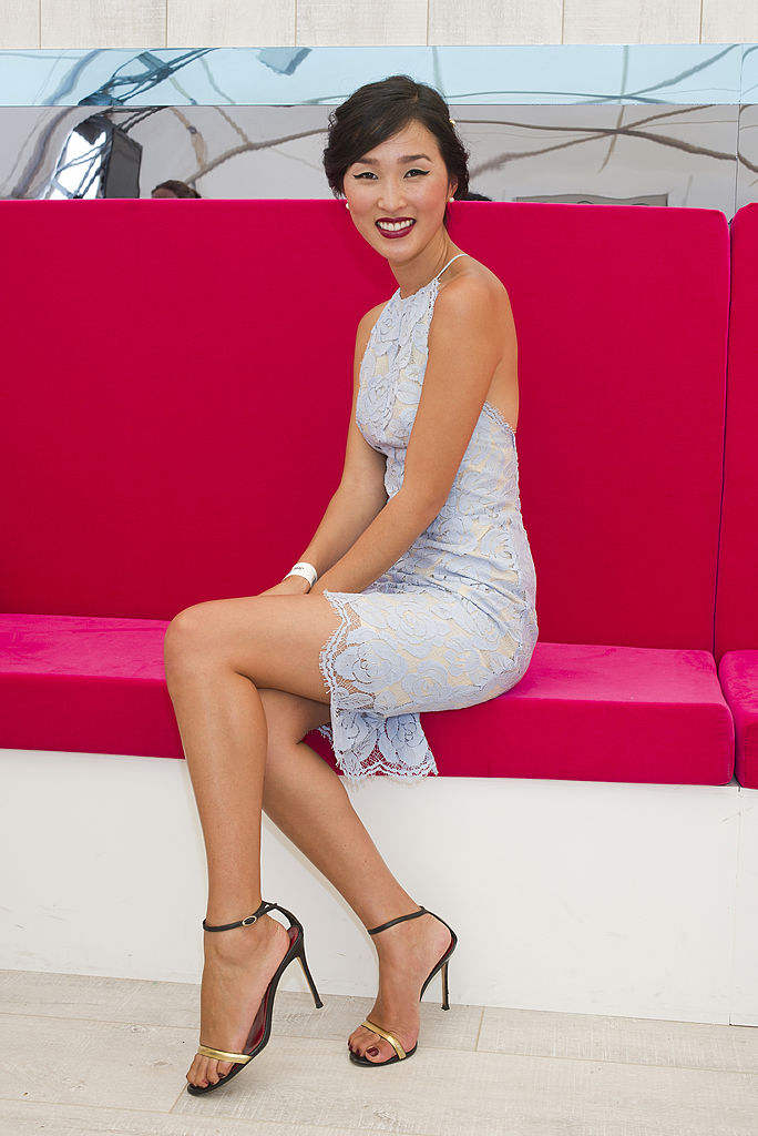 Nicole Warne attends Magic Millions Race Day on January 11, 2014 in Gold Coast, Australia