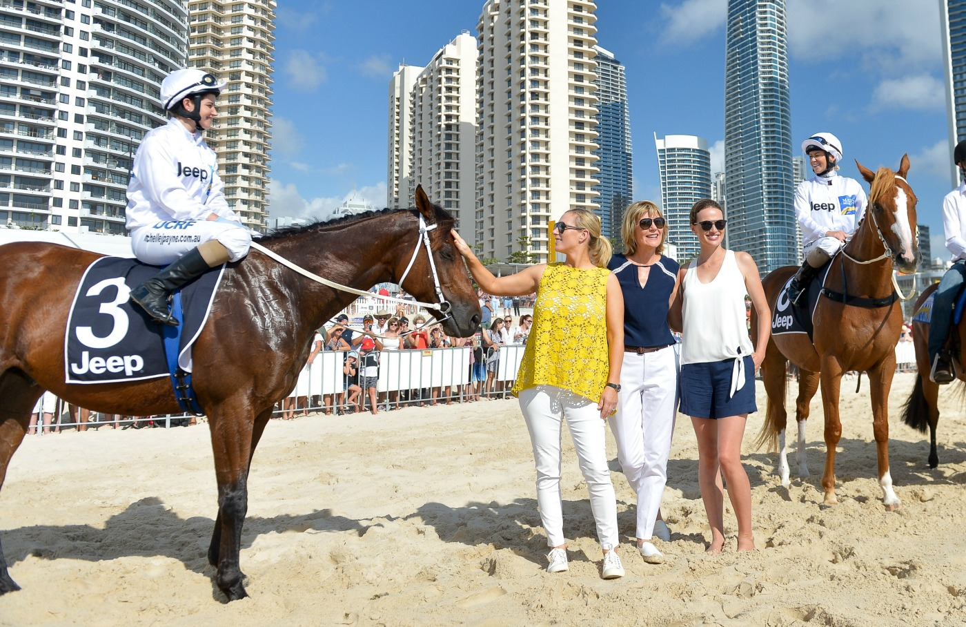 20170110-magic-millions-barrier-draw-michelle-payne-zara-phillips-katie-page-harvey-francesca-cumani-kathy-ohara-sheik