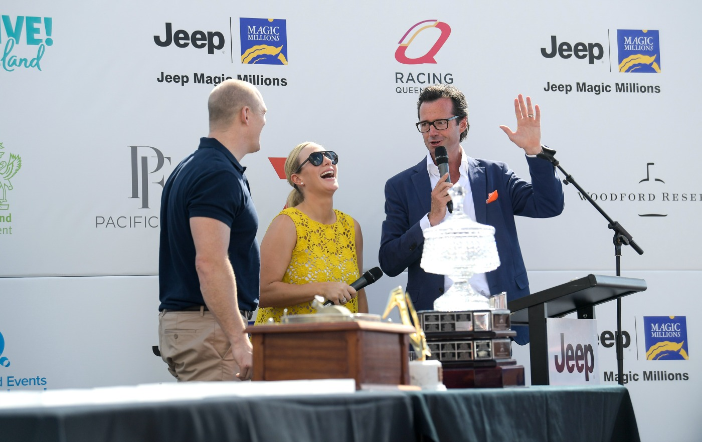 20170110-magic-millions-barrier-draw-atmosphere-photo-ken-butti0048 zara phillips mike tindall