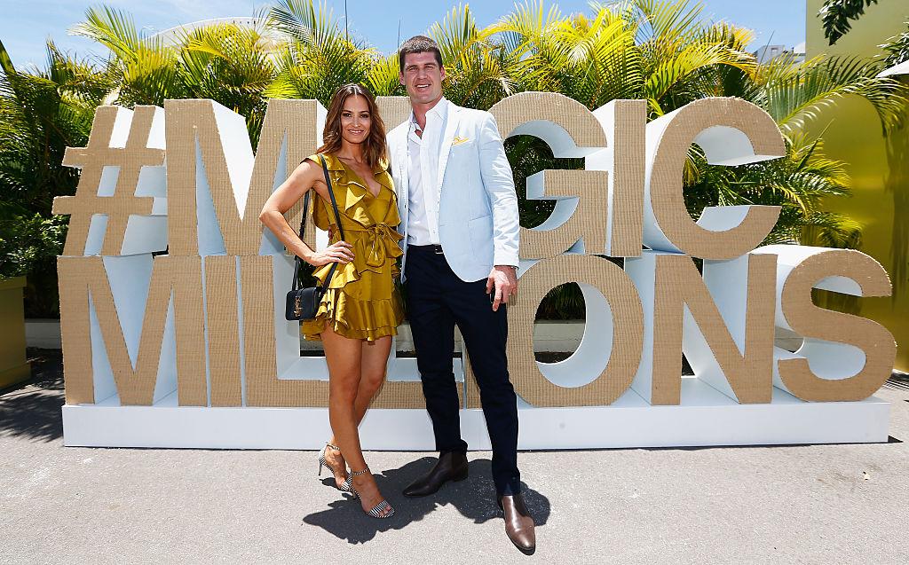 Kylie Brown and Jonathan Brown