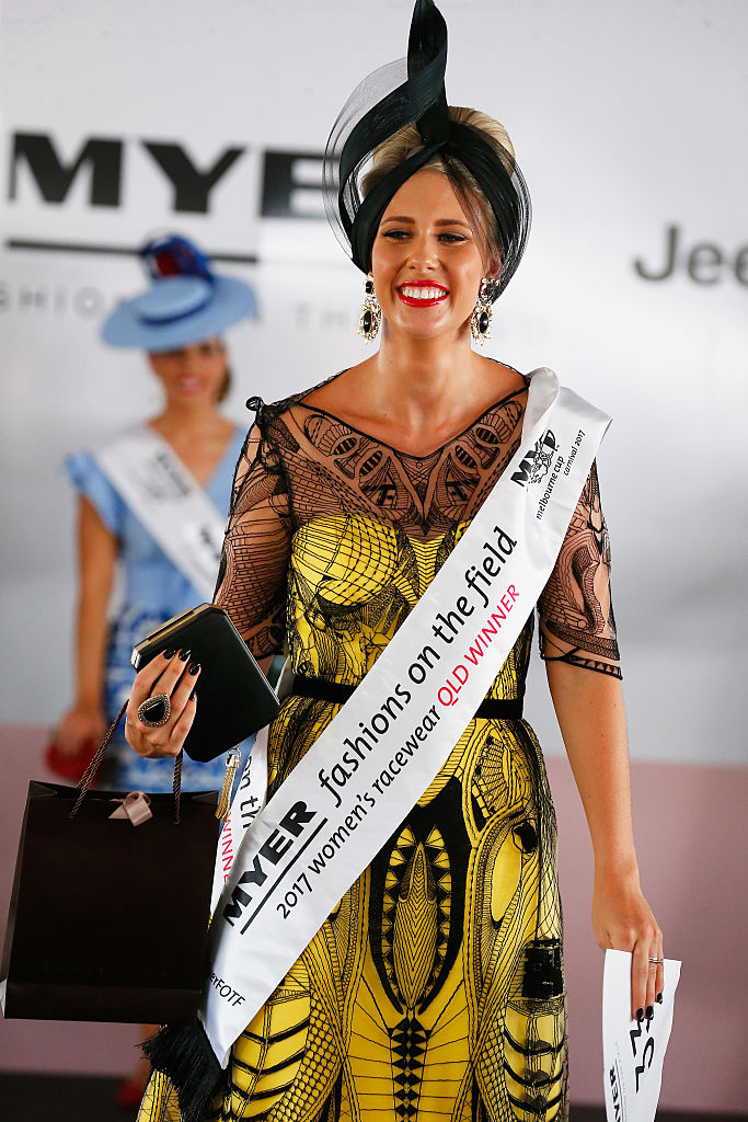 Fashions on the Field winner Stacie Galeano