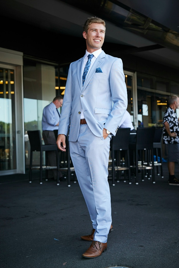 Men's racing fashion Randwick Sydney
