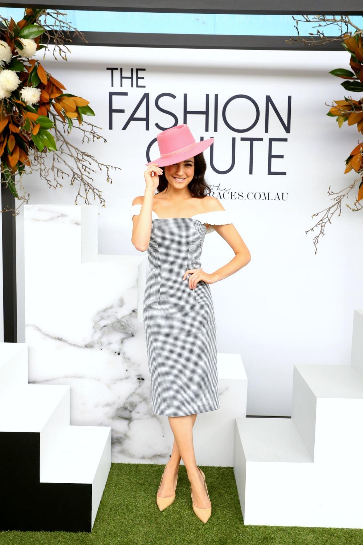 Abbey Gelmi at The Fashion Chute Rosehill Gardens