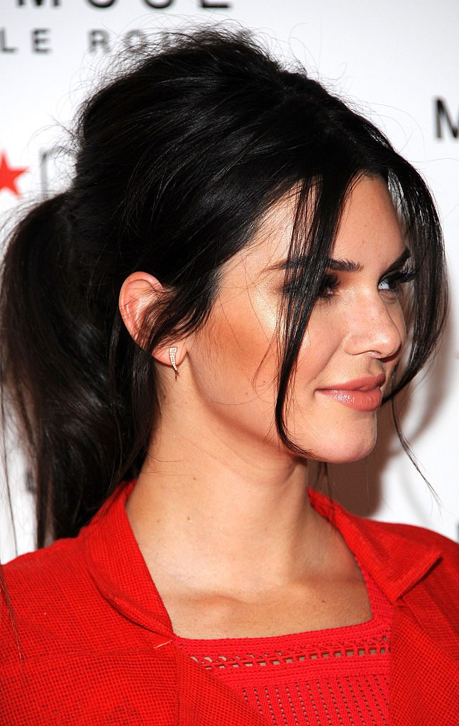 The Races Kendall Jenner Hair Style