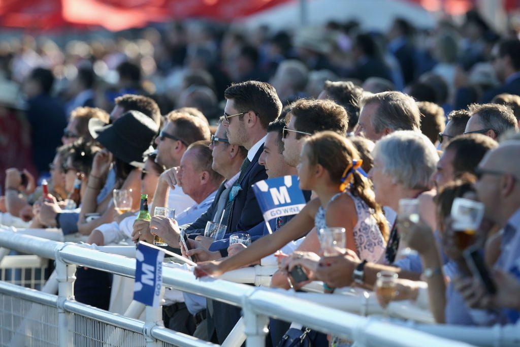 Crowd Royal Randwick Racecourse Sydney The Races