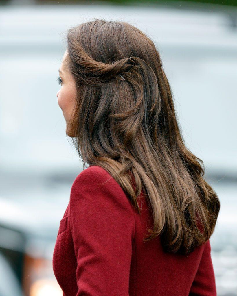 Kate Middleton Hair Style The Races