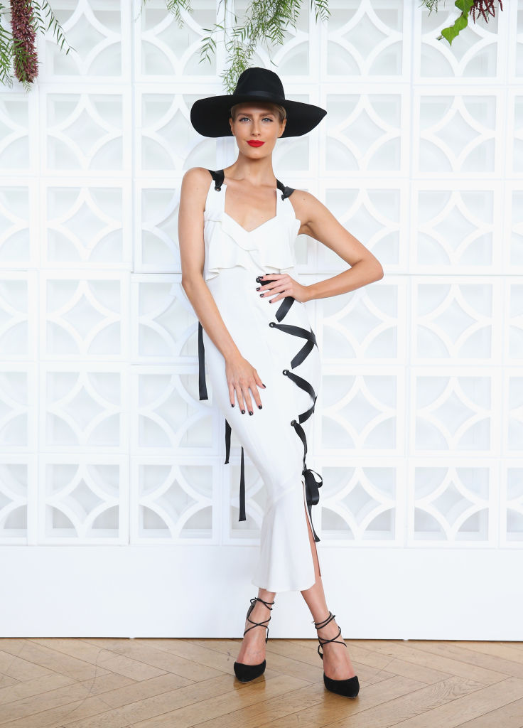 Erin Holland Black and white Sydney Carnival