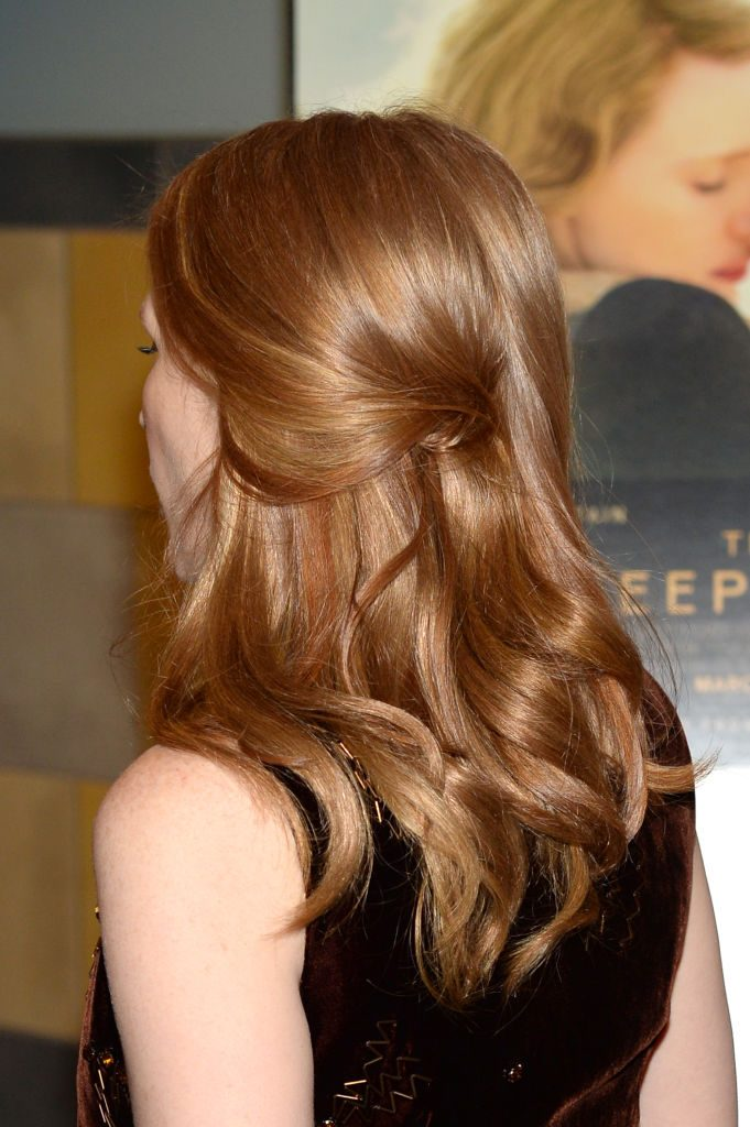 Jessica Chastain Hair Long Styles The Races