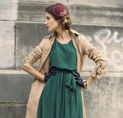 Look to the sophisticated damsels of yesteryear for perfect winter race wear inspo