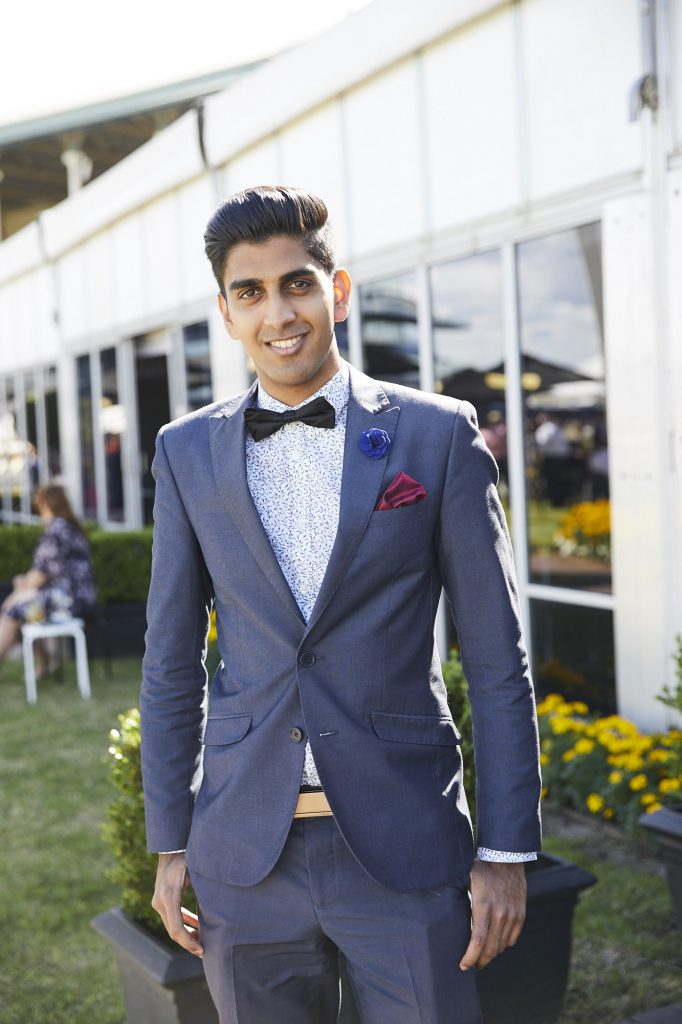 best dressed men at the races