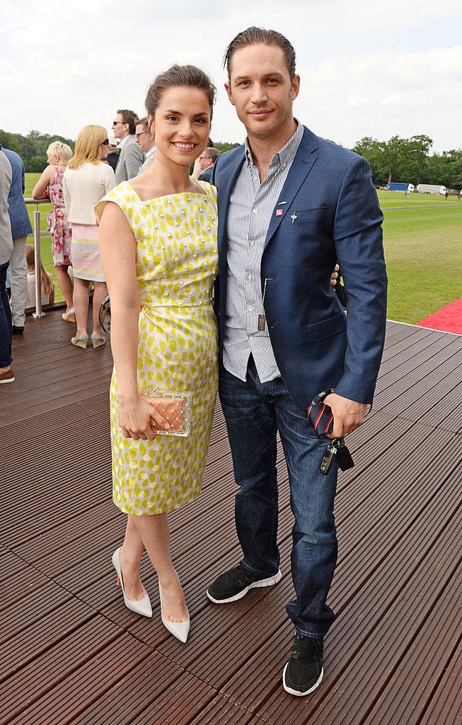 celebrities at the races Tom Hardy Charlotte Riley